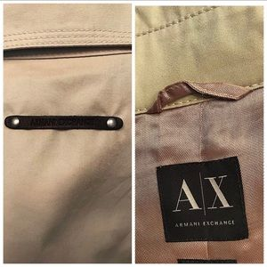 Armani Exchange wind jacket